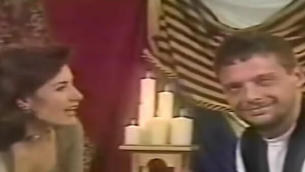 Gloria Calzada y Luis Miguel