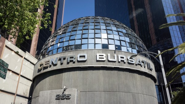 Mexican Stock Exchange In Mexico City