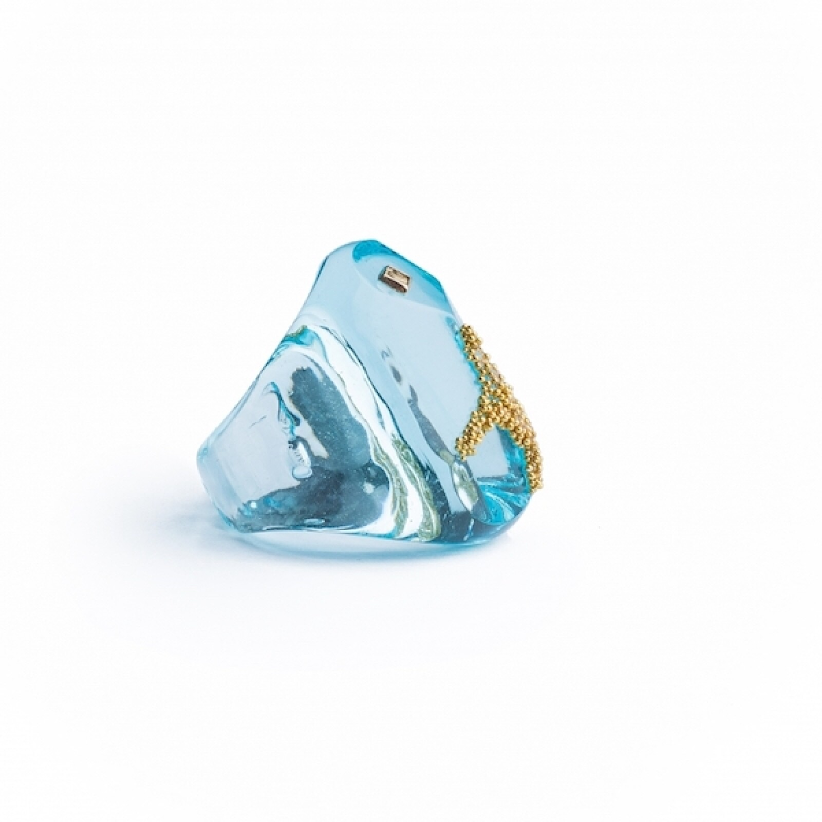 NAYIBE WARCHAUSKY FACETE PARADISE RING