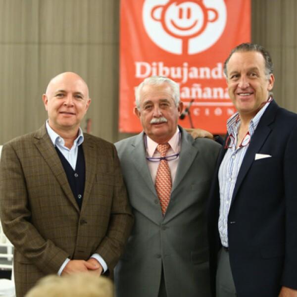 Carlos Ramírez de Aguilar, Rodrigo Córdoba y Javier Estévez