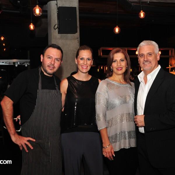 Juan Pedro Navarro,Florencia Covarrubias,Mónica Garduño y Carlos Gómez af Trolle