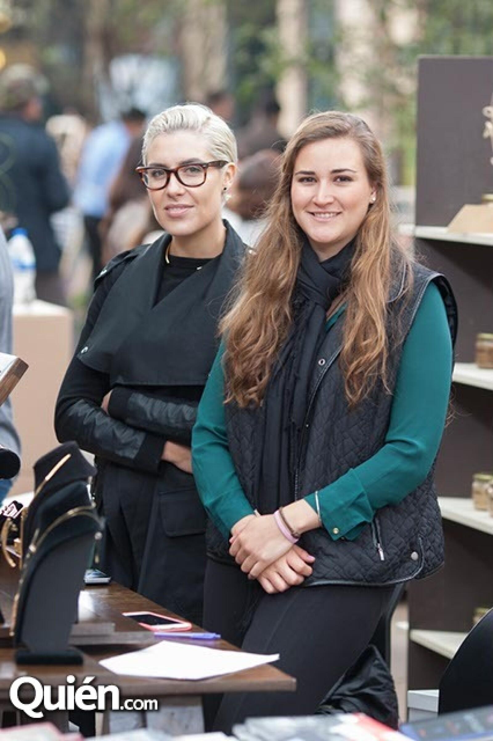 Antonieta Fernández y Daniela Segura
