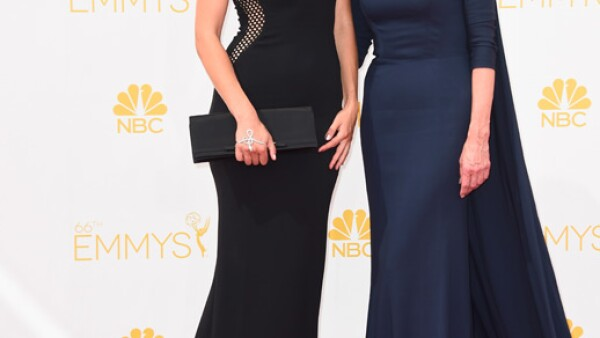 La actriz de The Good Wife, Christine Baranski llegó acompañada de Lily Cowles.