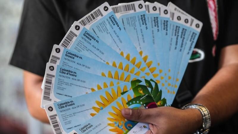 La FIFA anunció que venderá unos 180,000 boletos para el Mundial de Brasil 2014 el miércoles