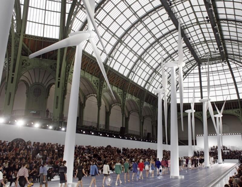 El Grand Palais.