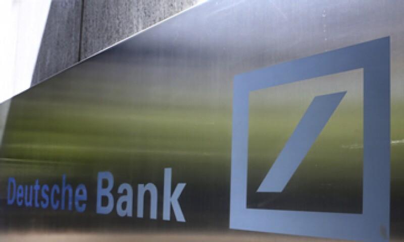 Deutsche Bank está en el segundo lugar a nivel mundial entre las entidades colocadoras de deuda.     (Foto: Getty Images)