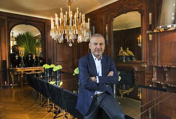 Designer Elie Saab in His Apartment in Paris, France - Aug 2011