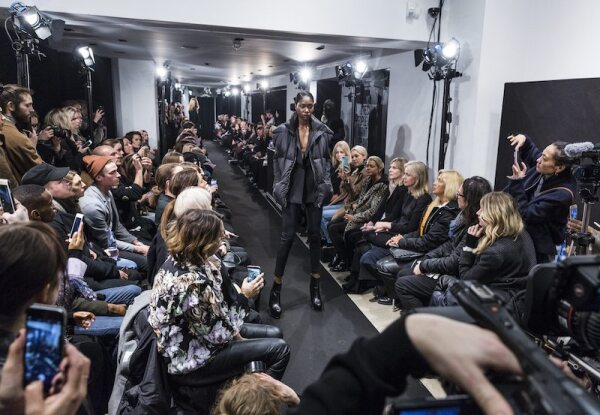 Johan Lindeberg show, Runway, Fall 2017, Fashion Week Stockholm, Sweden - 30 Jan 2017