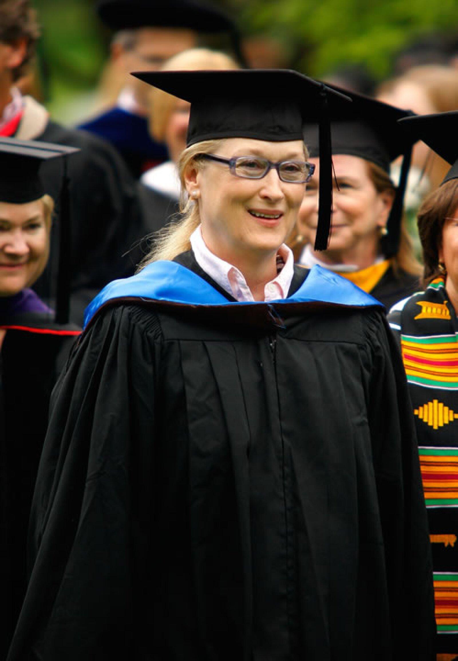 Meryl Streep en Cambridge 2010.