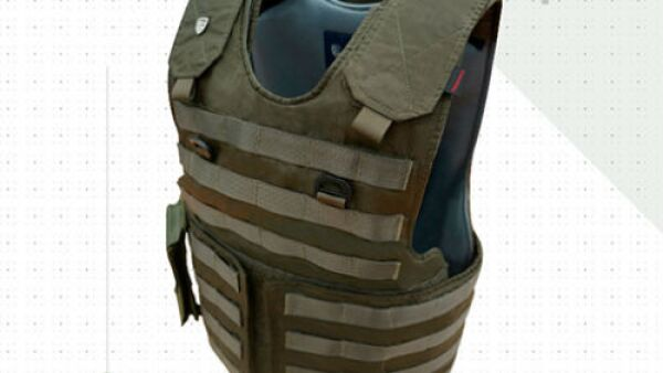 ropa con blindaje / seguridad