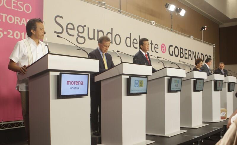 En el segundo y último debate, los candidatos plantearon sus propuestas en educación, salud y política.