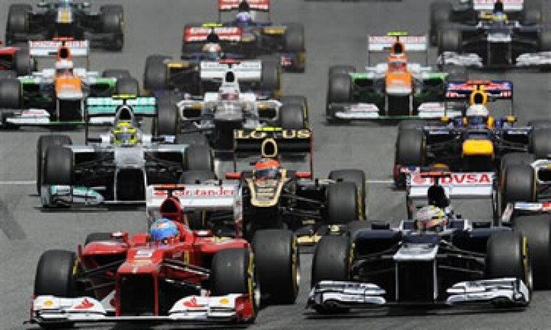 La OPI valora a Fórmula Uno en unos 9,100 mdd. (Foto: AP)