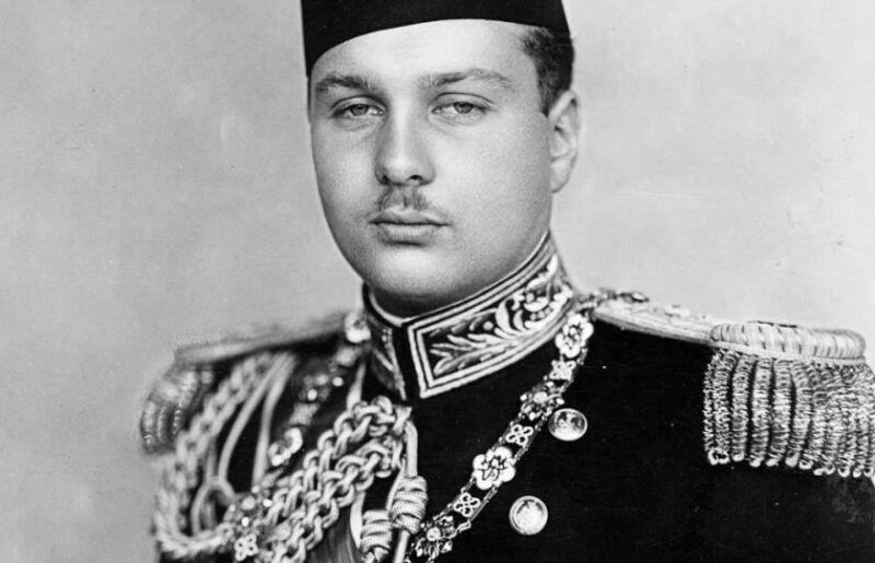 Rey Faruq de Egipto