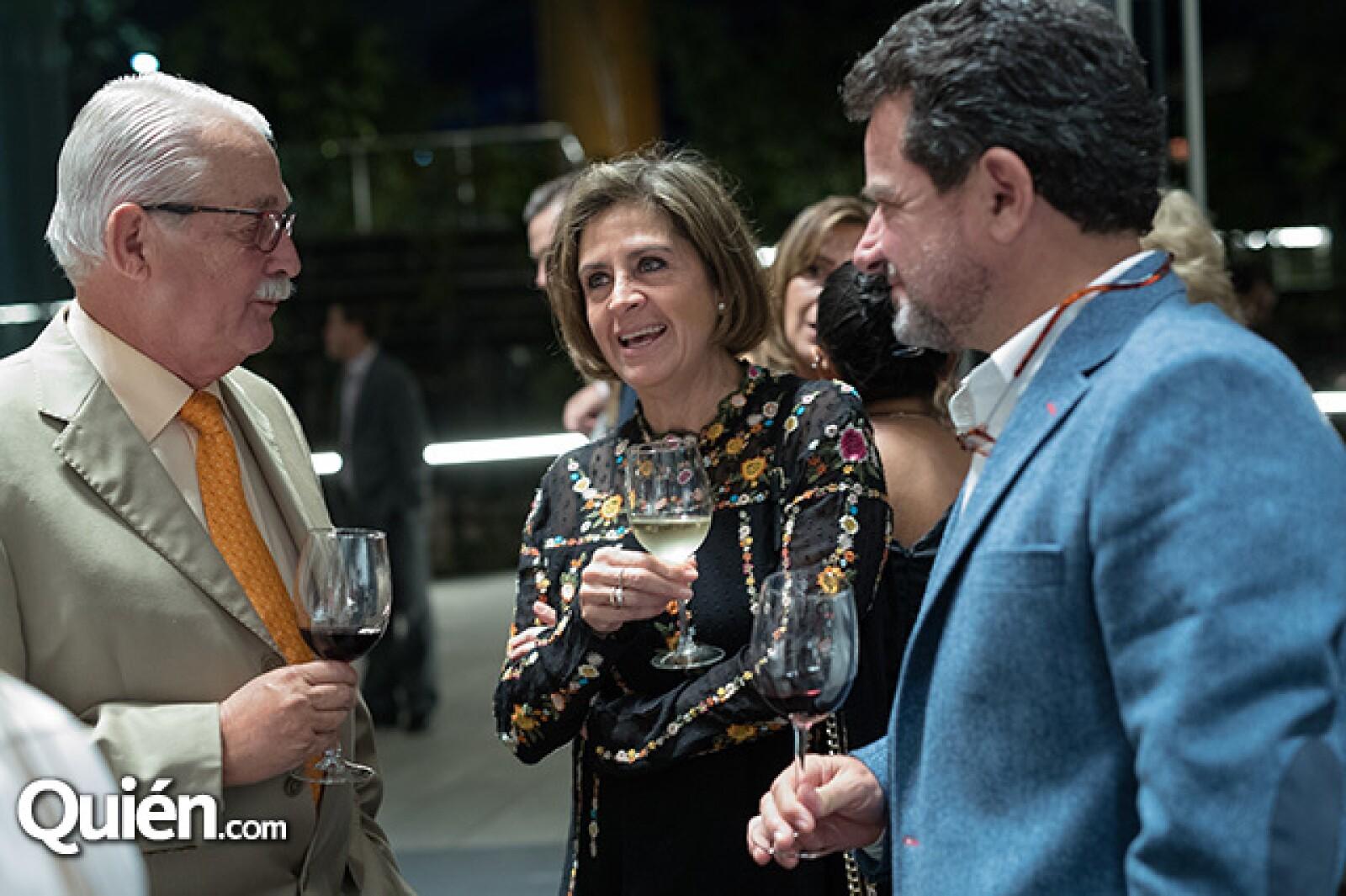 Rodrigo Córdoba, Vicky Pérez y Juan Carlos Rodríguez