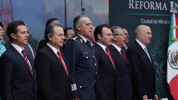 Pe�a Nieto, Coldwell, Reforma Energ�tica