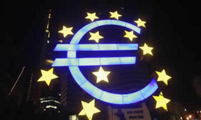 A tasa anual, la economía en la eurozona creció 0.9%. (Foto: Reuters)