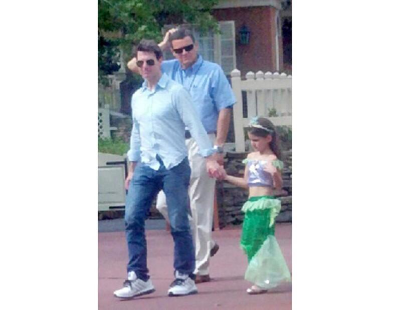 Una nueva imagen muestra que el actor estadounidense ha permanecido al pendiente de las necesidades de su hija.