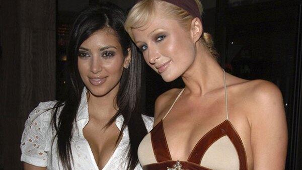 Antes de que Kim fuera famosa y Paris era una estrella de reality, tenían una amistad tan fuerte que duraría para siempre… no sucedió, ¿por?