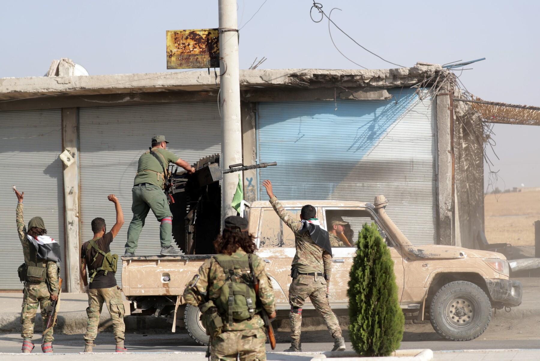 Cambio de alianzas en Siria
