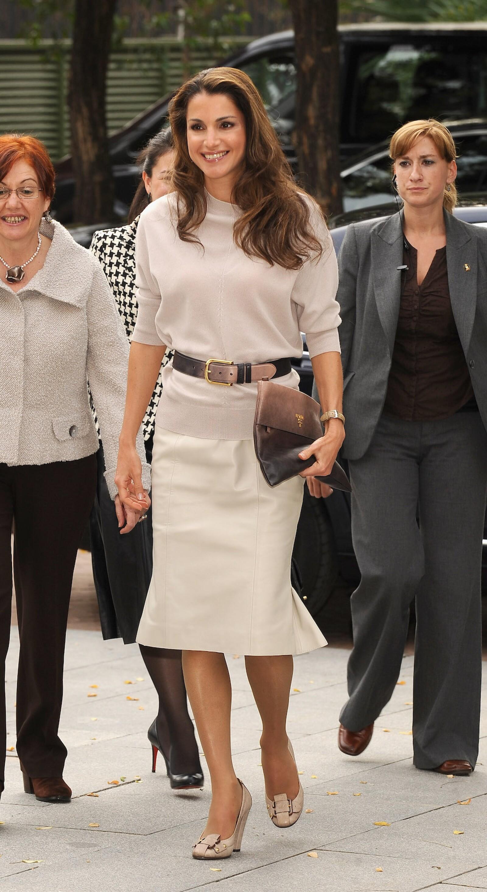 Queen Rania Al Abdullah Visits Casa Arabe