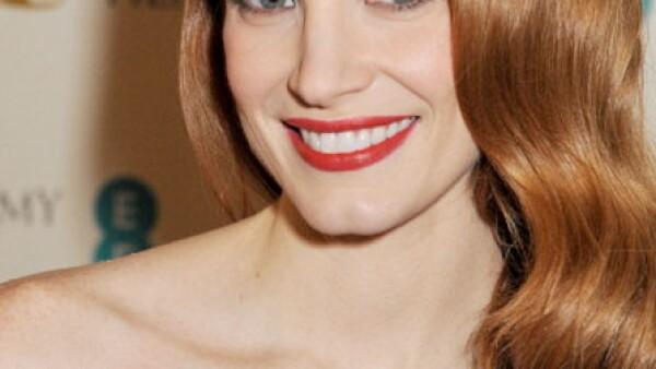 La guapa pelirroja está nominada por su papel en `Zero Dark Thirty´. El año pasado Jessica vistió un McQueen color negro, este año se espera que vuelva a sorprender.