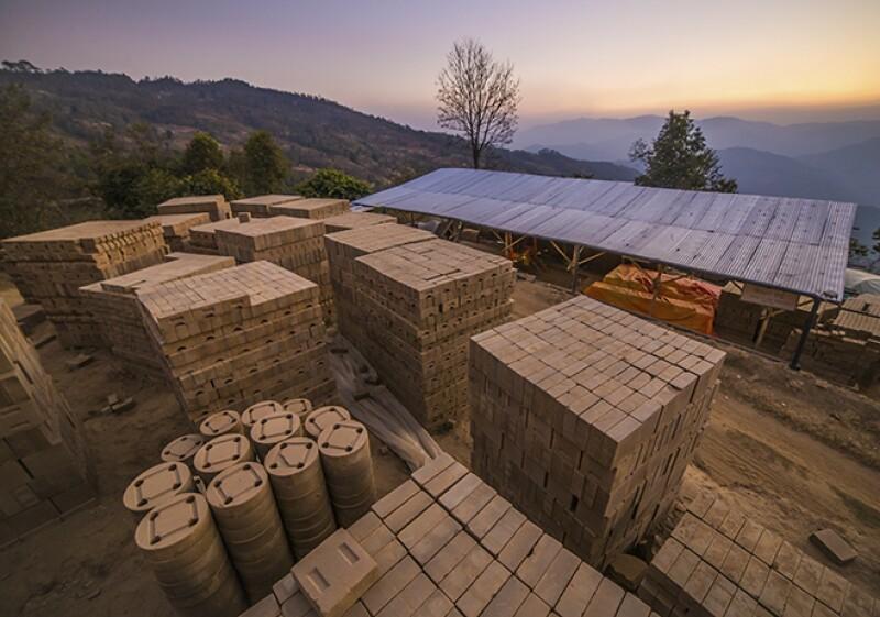 ladrillo de Nepal
