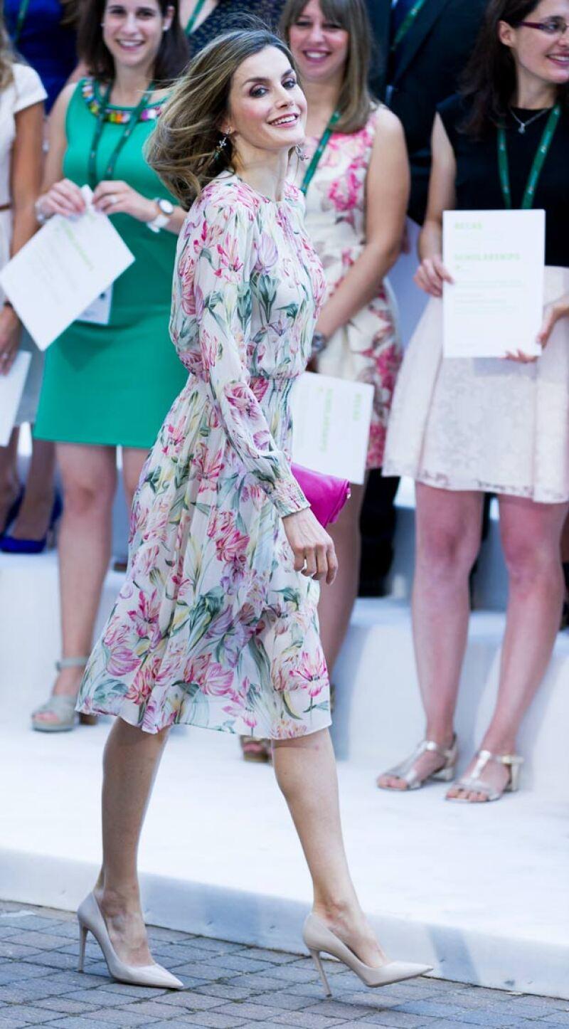 Si creías que por ser parte de la realeza, la española solo usaba ropa de diseñador, ¡te equivocas!. Descubre su más reciente look que consiguió a un precio irresistible.
