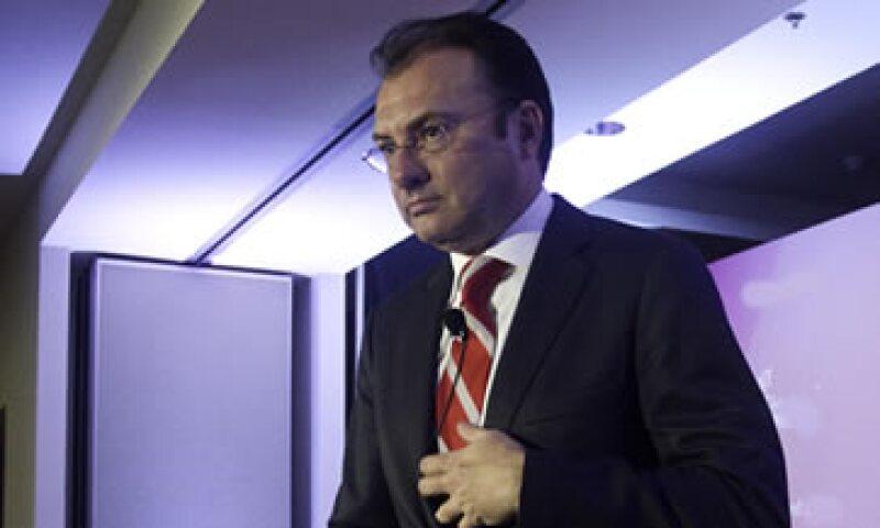 Luis Videgaray admitió que desde enero consume menos Coca-Cola debido a la mayor carga tributaria. (Foto: Cuartoscuro)