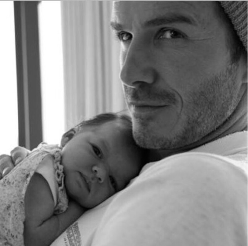Este viernes la menor de la familia Beckham cumple cuatro año, por lo que su famoso papá aprovechó las redes sociales para enviarle un mensaje de cariño.