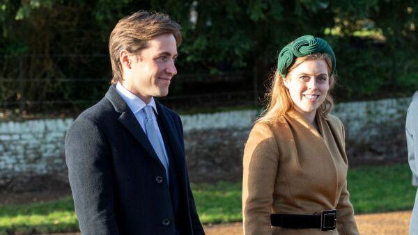 Edoardo Mapelli y la princesa Beatriz