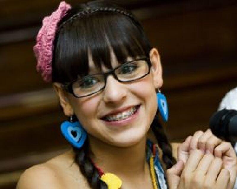 La protagonista de la telenovela Atrévete a Soñar, vivió toda una aventura como 'Patito' al lado del grupo en Monterrey al realizar algunas tomas en la Arena, cuyo resultado podrá verse en octubre.