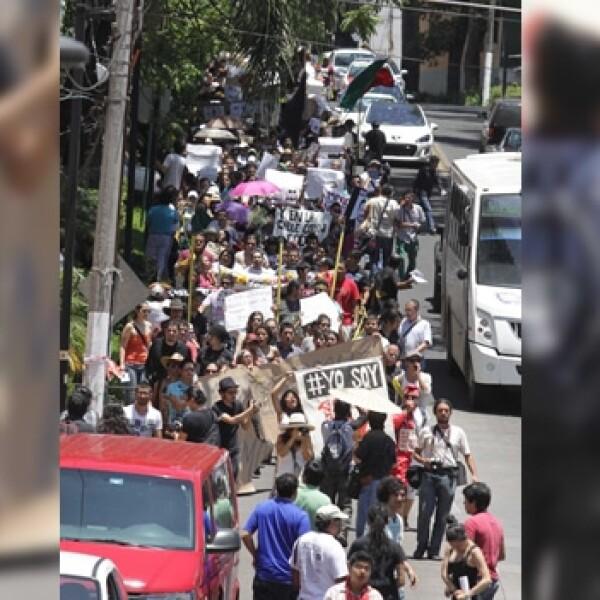 marcha anti peña en xalapa