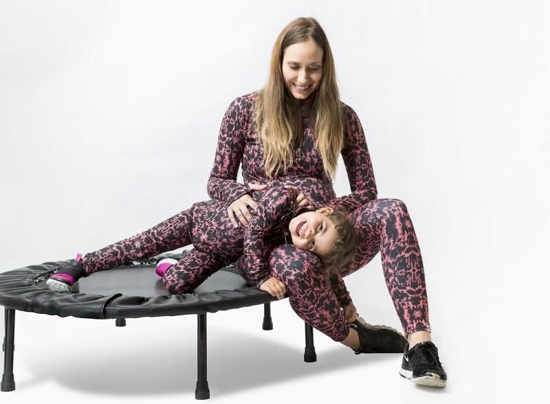 Plena mamá e hija