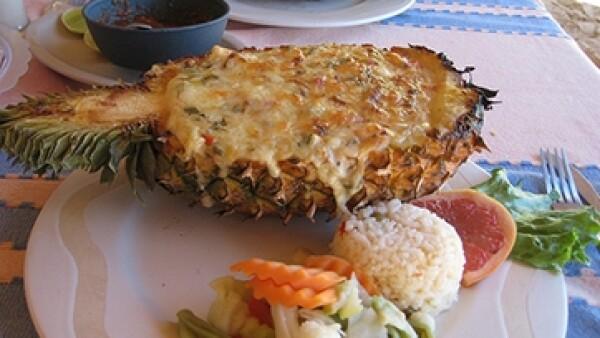 Comida en Huatulco