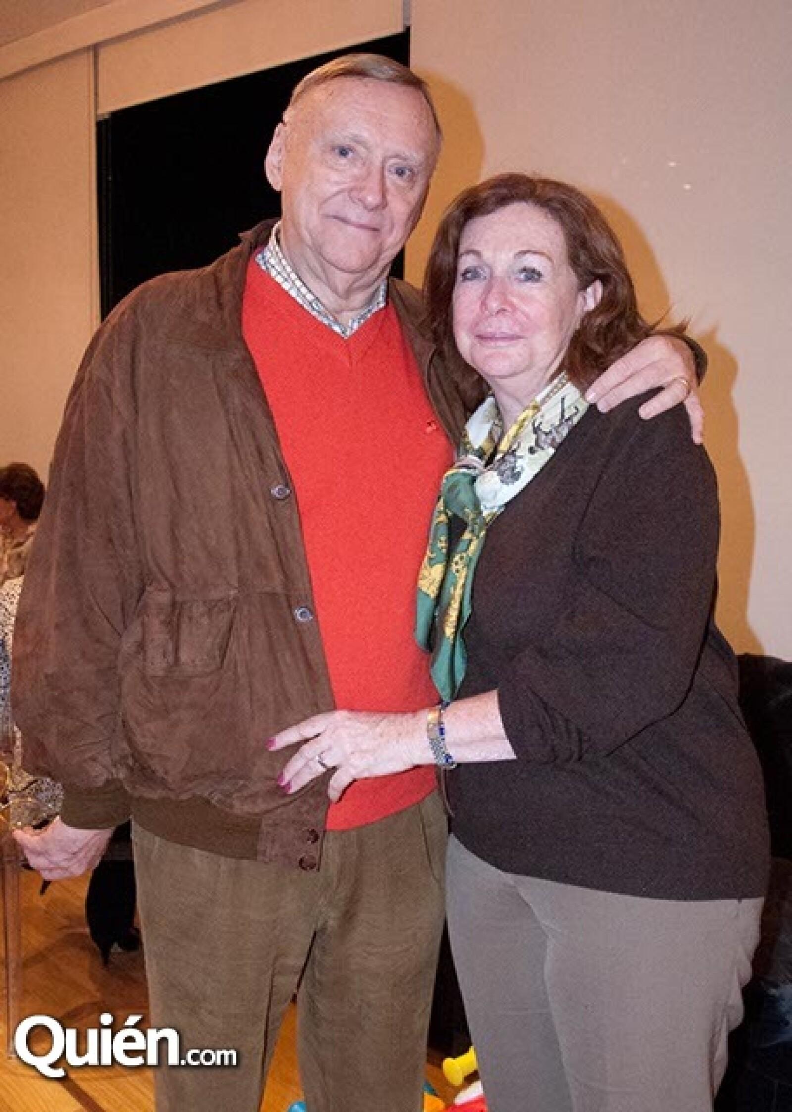 Claude y Diana Charlier