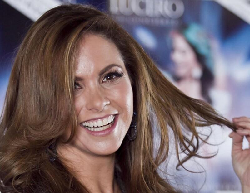 Lucero fue fuertemente criticada por su error.