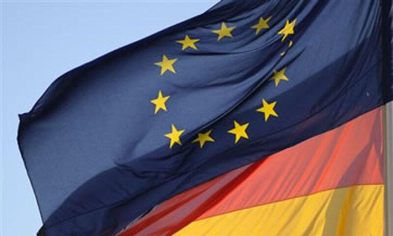 Cinco bancos alemanes tienen un déficit de capital que supera los 5,200 mdd. (Foto: AP)