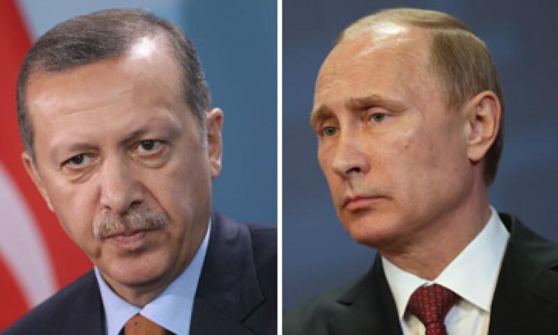 Los presidentes de Turquía y Rusia se han culpado el uno al otro de lo ocurrido. (Foto: Especial)