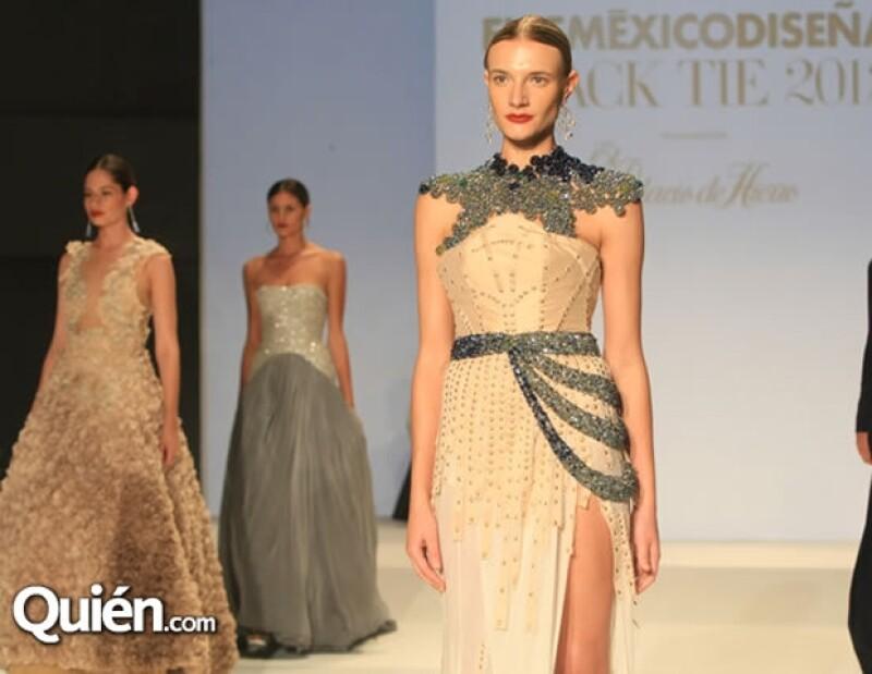A la izquierda el diseño de Verónica Diaz y la derecha el de Edgar Lozano.