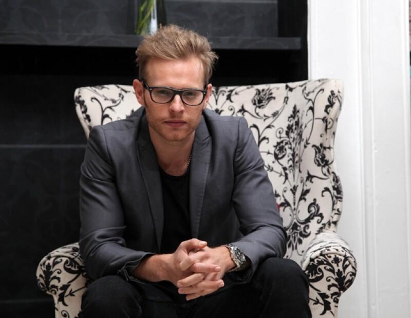 El actor y productor mexicano nos platicó sobre su papel en la nueva serie de televisión 'A corazón abierto&#39.
