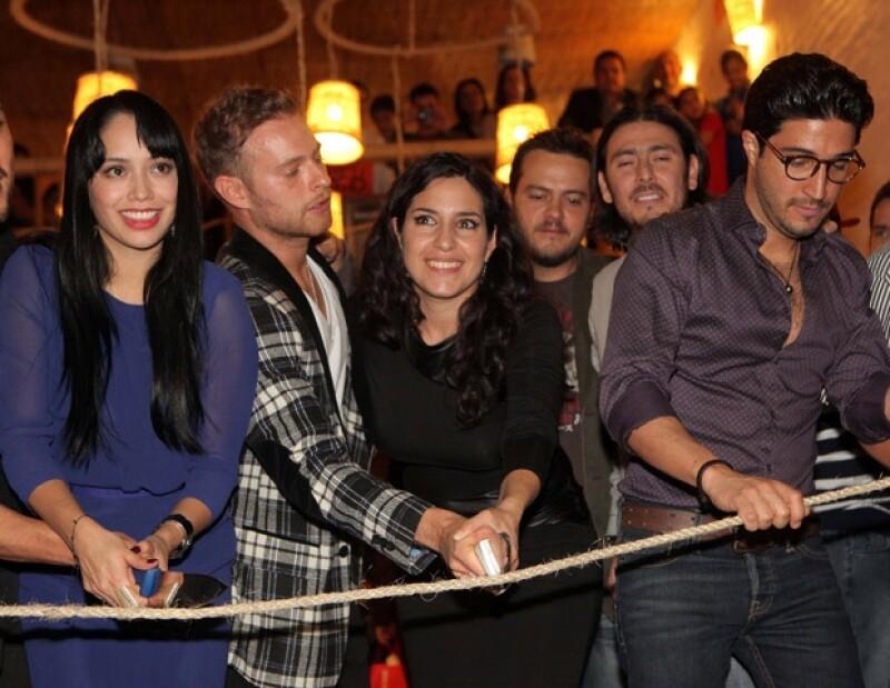 Luis Ernesto Franco, Maya Zapata y Tiaré Scanda, entre otros famosos, abrieron el restaurante San Blás.