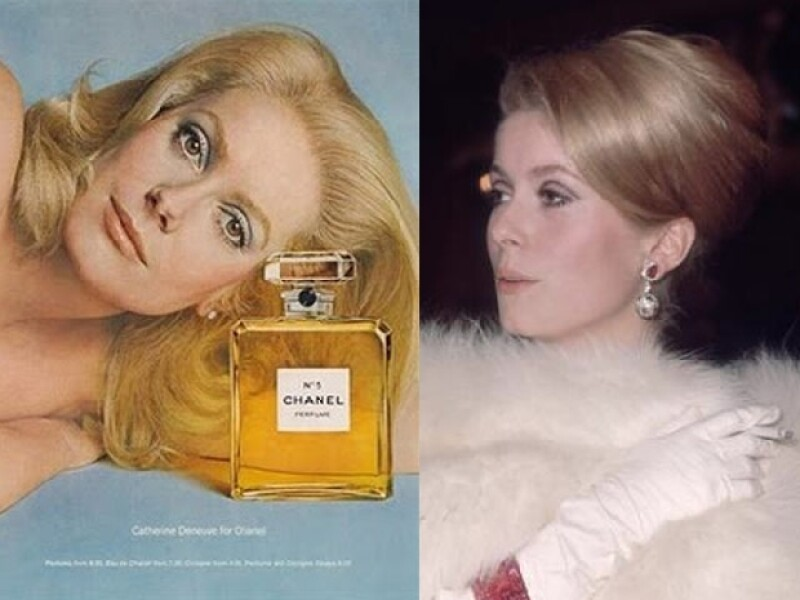 Catherine fue la imagen de Chanel, su glamour la llevó a estar siempre ligada a la moda.