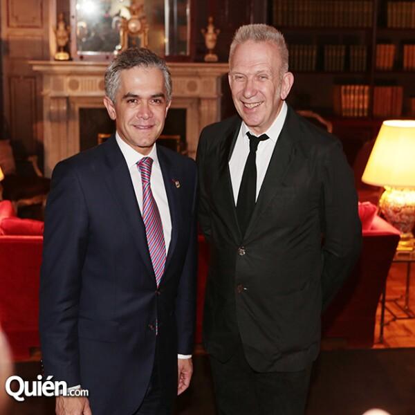 Miguel Ángel Mancera,Jean Paul Gaultier