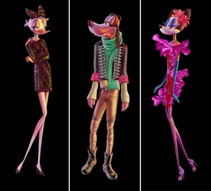 La figura de los personajes ha causado controversia.