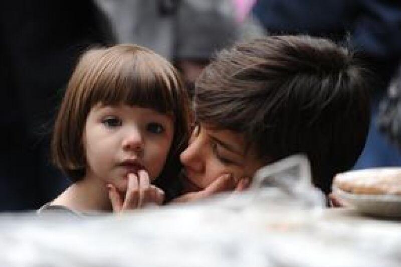 La hija de Tom Cruise y Katie Holmes encabeza la segunda lista de Forbes. En el ranking también se encuentran los hijos de Angelina Jolie y Brad Pitt.