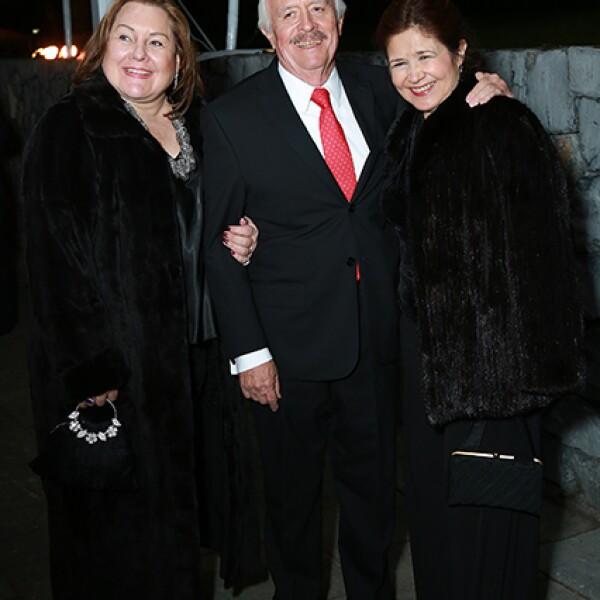 Rosy Lobo,Alfonso López y Marcela de López