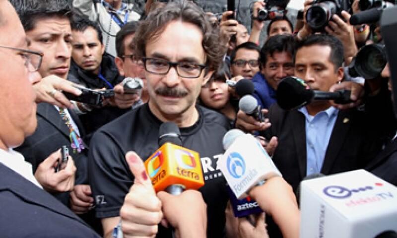 El ingeniero civil por la Iberoamericana se promovió en su campaña como ciudadano y no como político. (Foto: Notimex)
