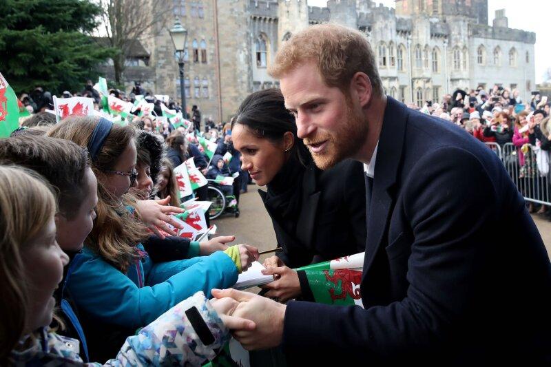 Príncipe Harry con Meghan Markle