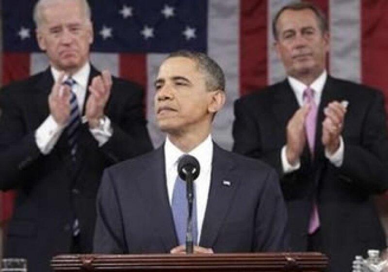 Obama buscó tranquilizar la preocupación de los estadounidenses por el desempleo. (Foto: Reuters)