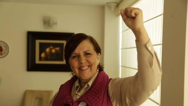 Ana Teresa Aranda es la única candidata independiente que buscará hacerse con la gubernatura de Puebla en las elecciones